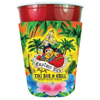 Full Color Party Cup Scuba Coolie