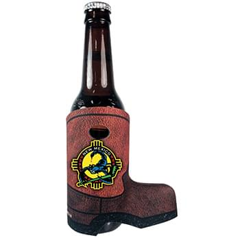 Full Color Boot Slide-On Scuba Sleeve for Bottles