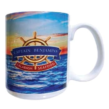 Full Color 15 oz El Grande Ceramic Mug