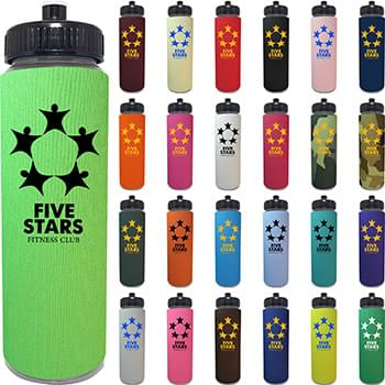 25 oz. Freedom Bottle with One Color Sleeve