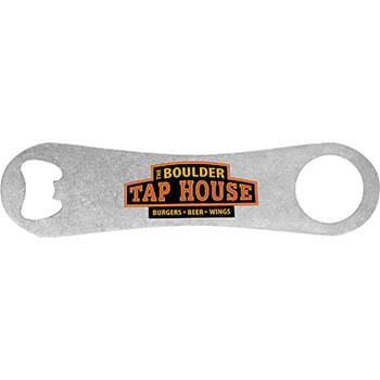 Full Color Metal Bartender Bottle Opener