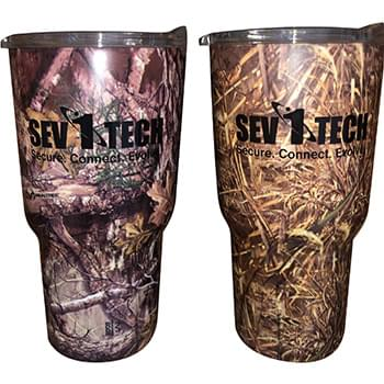 30 Oz. Realtree® Stainless Vacuum Tumbler
